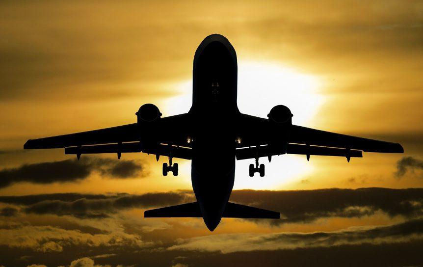 Opstijgen van een vliegtuig