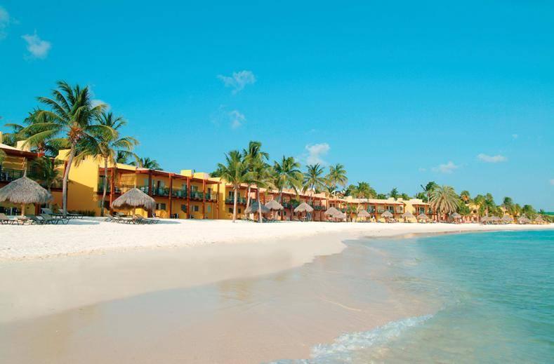 Vakantie Druif Beach Aruba