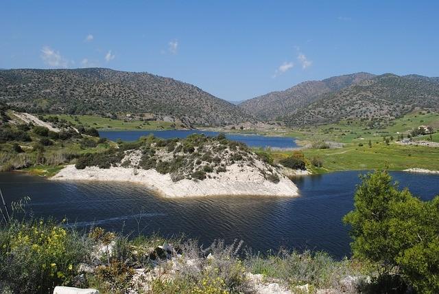 Meer en bergen Limassol Cyprus