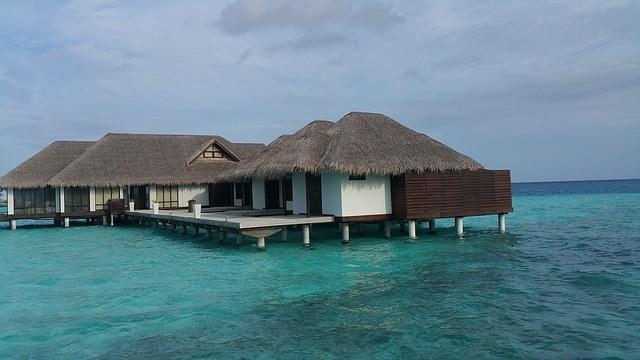 Strand, zonvakantie, Malediven