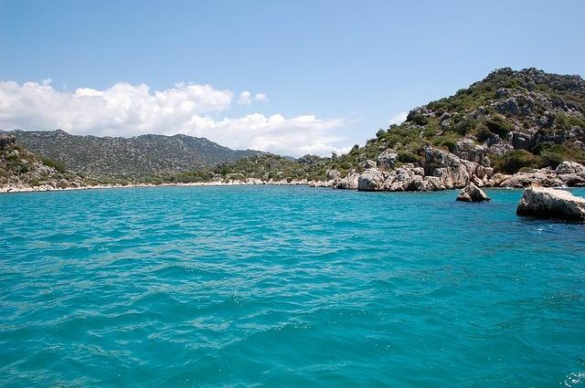 Vakantie Turkije landschap zee