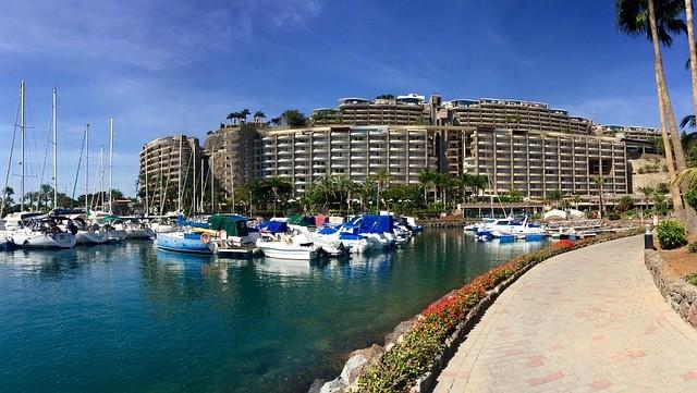 Gran Canaria Spanje hotel boten