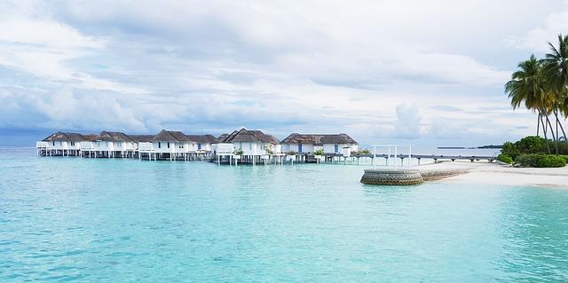 Malediven vakantie waterbungalow zee strand