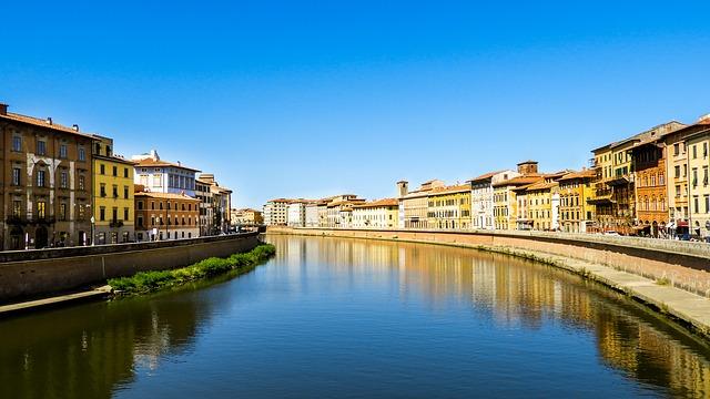 Stedentrip Pisa Italië rivier