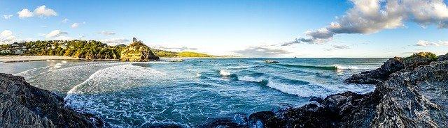 Vakantie zon zee golven