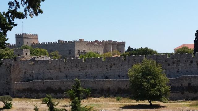 Vakantie Rhodos Griekenland kasteel