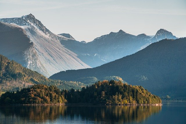 Noorwegen Scandinavië bergen natuur