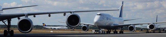Luchthaven vliegtuigen