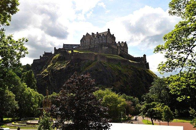 Edinburgh Schotland kasteel