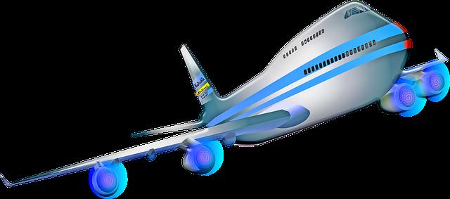Vliegreis vliegtuig