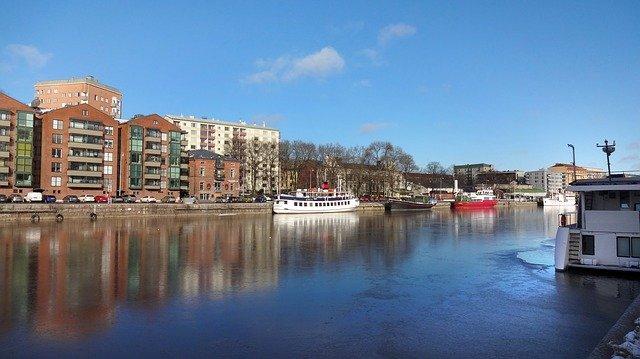 Finland Turku rivier